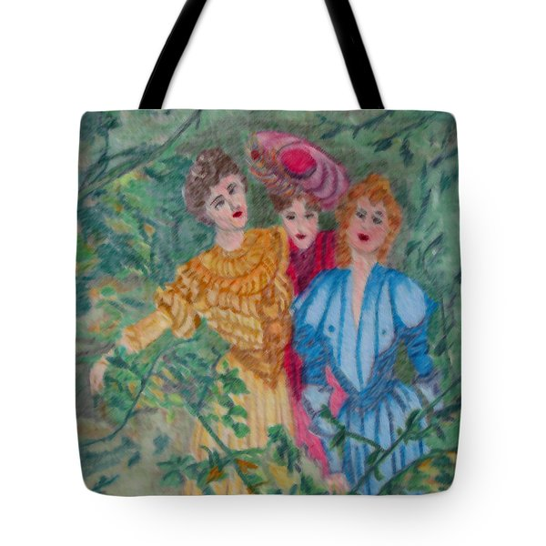In The Garden Tote Bag by Gail Daley