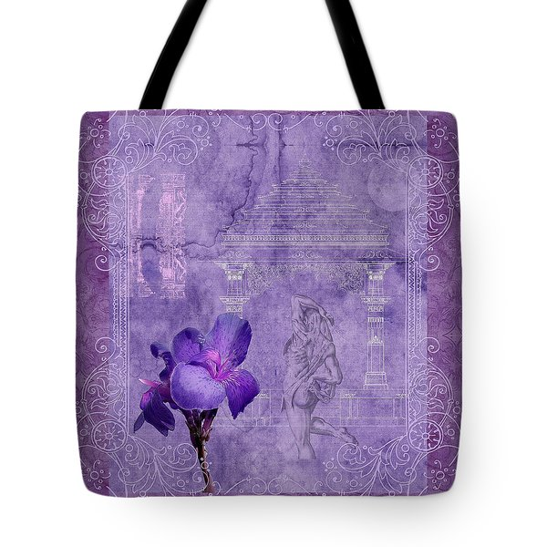 In The Garden Tote Bag by Robert Kernodle