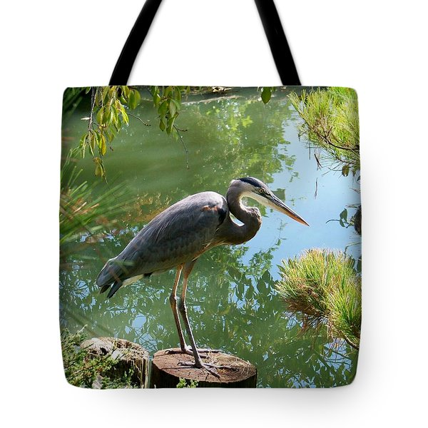 In The Japanese Gardens Tote Bag by Julie Grace