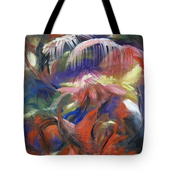 In The Jungle Tote Bag by Roberta Rotunda