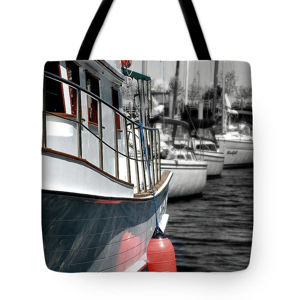 In The Lead Tote Bag