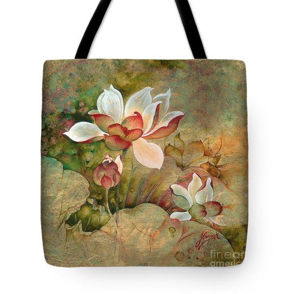 In The Lotus Land Tote Bag
