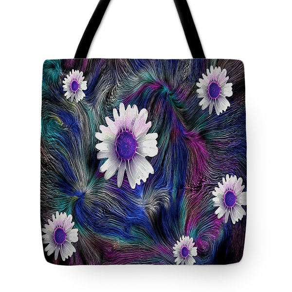 In The Magic Forest In The Temple Of Colors Tote Bag