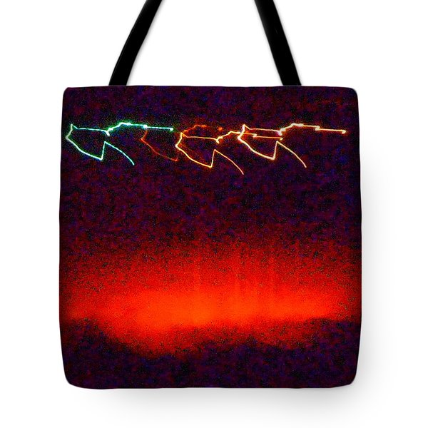 In The Midnight Hour Tote Bag