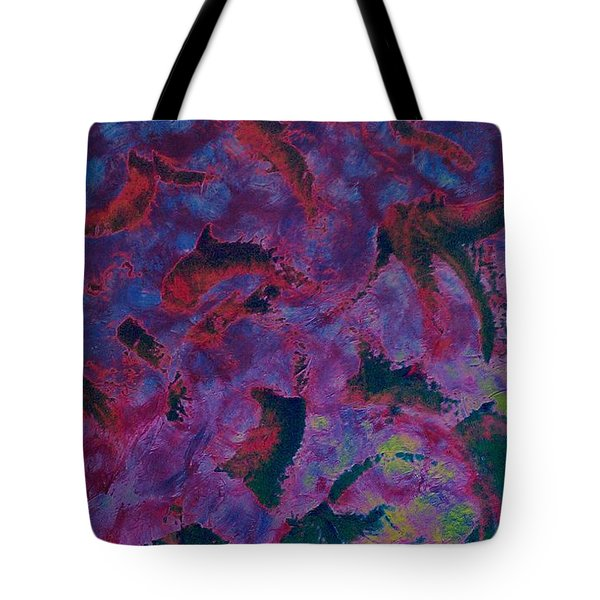 Tote Bag featuring the painting In The Mind's Eye by Jacqueline McReynolds