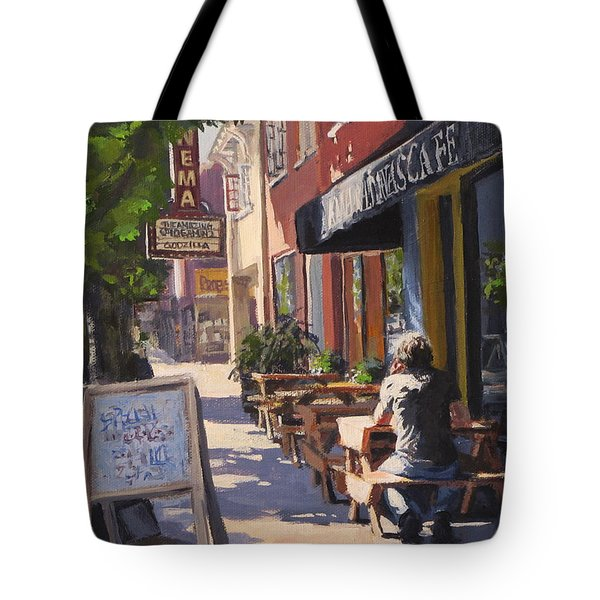 In The Morning Sun Tote Bag
