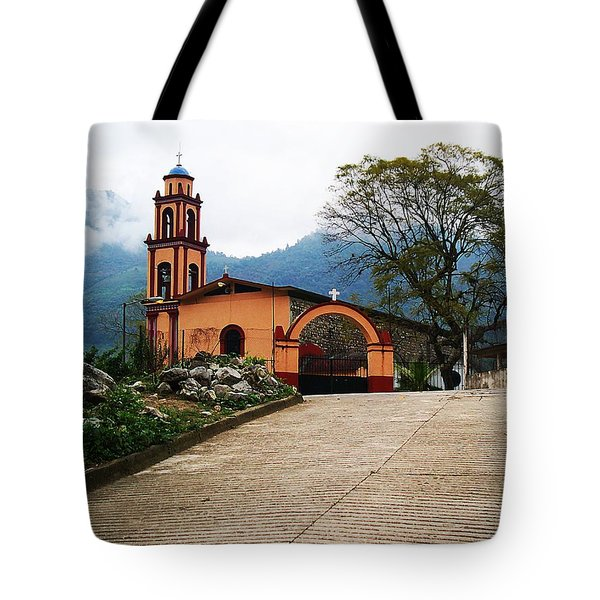 Tote Bag featuring the photograph In The Mountains Of Mexico by Joy Nichols
