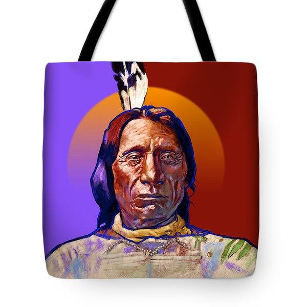In The Name Of The Great Spirit Tote Bag