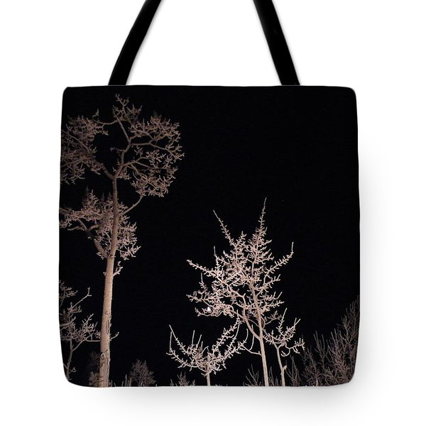 Tote Bag featuring the photograph In The Night Garden by Brian Boyle