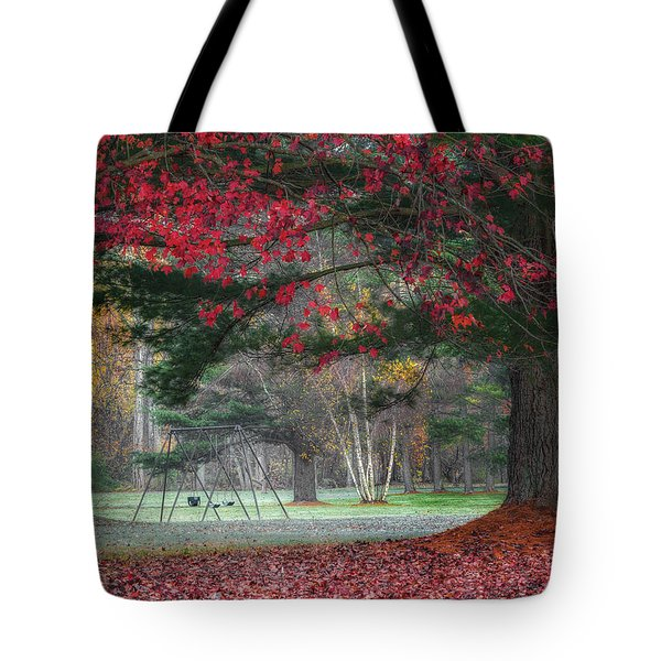 In The Park Tote Bag by Bill Wakeley