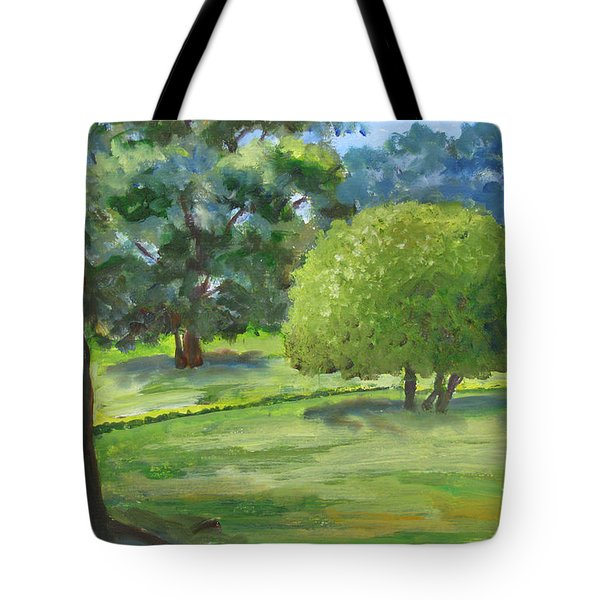 In The Park Tote Bag by Mini Arora