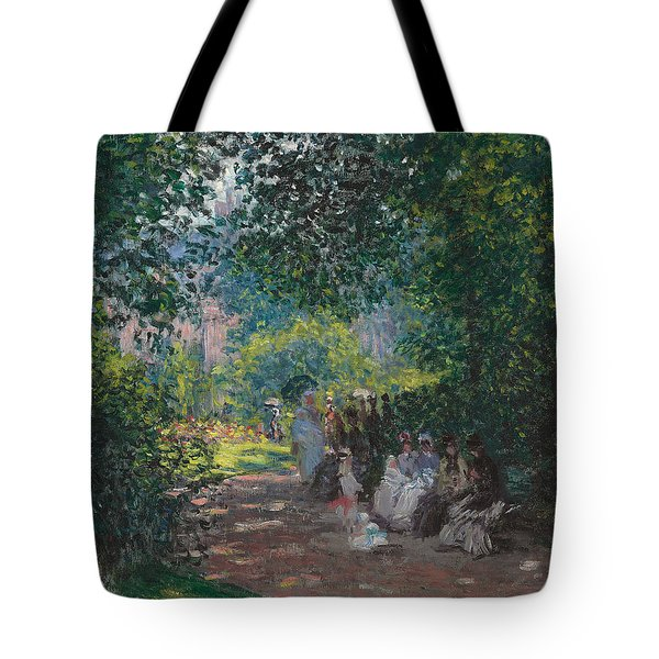In The Park Monceau Tote Bag by Cluade Monet
