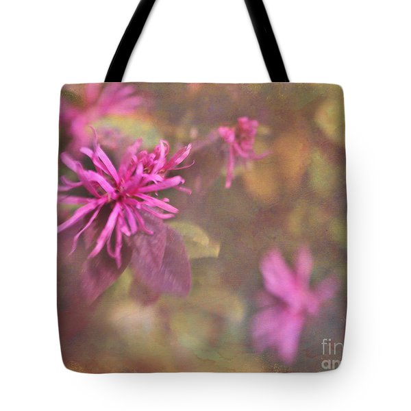 In The Pink Tote Bag by Judi Bagwell