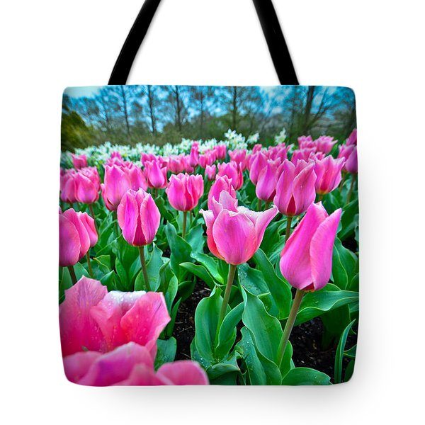 In The Pink Tote Bag