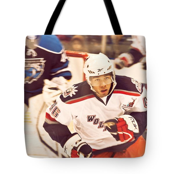 In The Play Tote Bag by Karol Livote