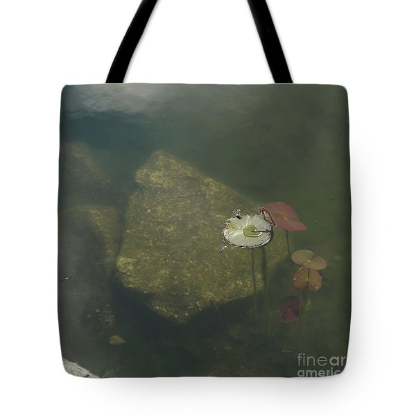 Tote Bag featuring the photograph In The Pond by Carol Lynn Coronios