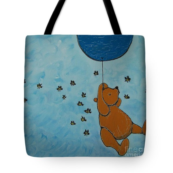 In The Pursuit Of Honey Tote Bag