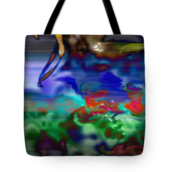 In The Sea Tote Bag