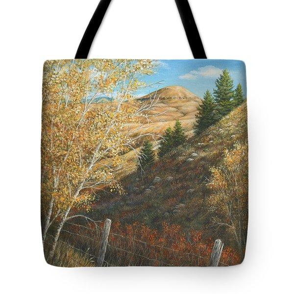 Belt Butte Autumn Tote Bag