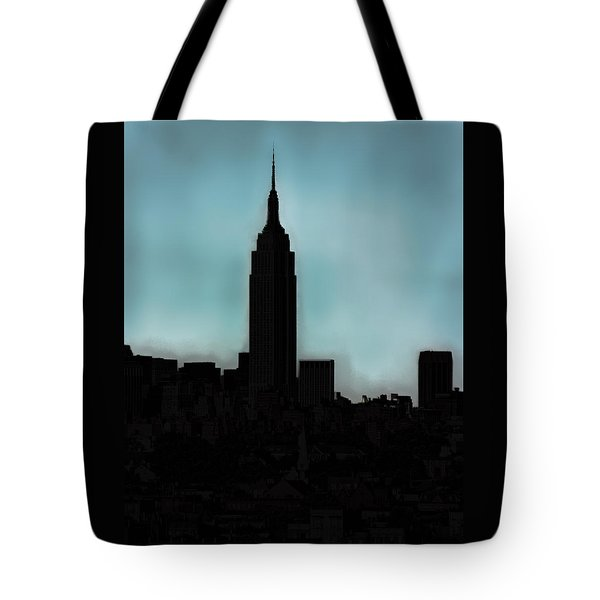Tote Bag featuring the photograph In The Shadow Of The Empire by Kellice Swaggerty