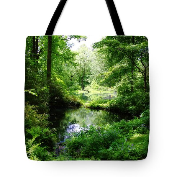 In The Stillness Tote Bag