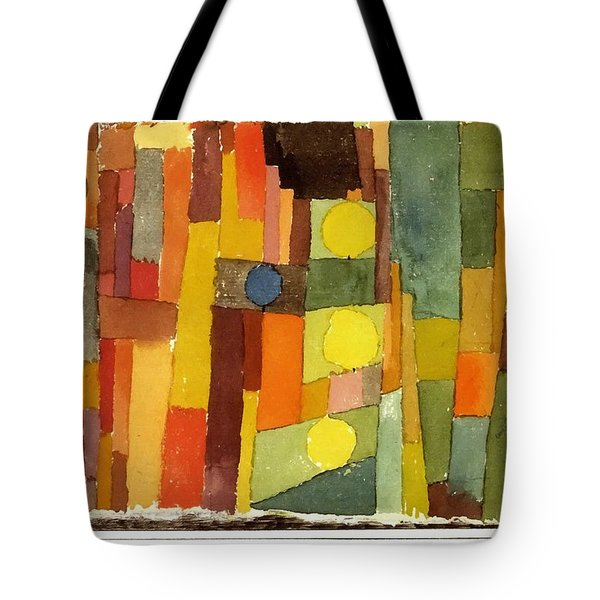 In The Style Of Kairouan Tote Bag