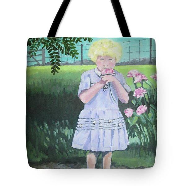 In The Summer Shade Of The Locust Tote Bag