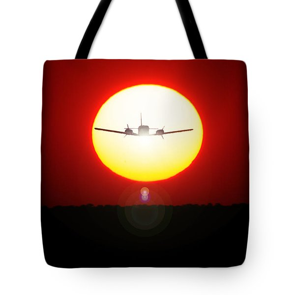 Tote Bag featuring the photograph In The Sun by Paul Job