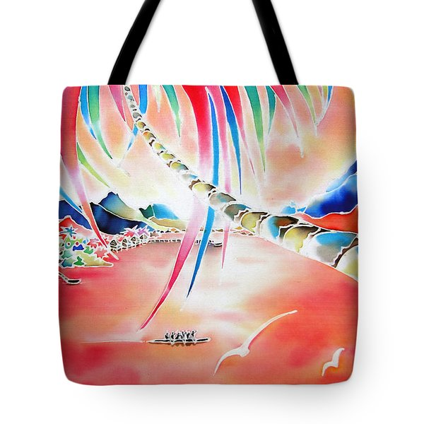 In The Sunset Tote Bag