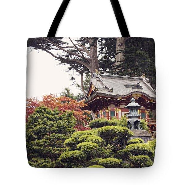 In The Tea Garden Tote Bag