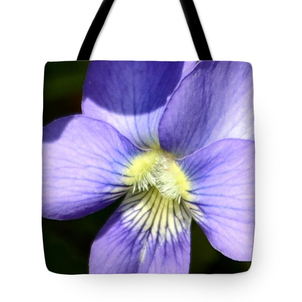 In The Vein Of Violet Tote Bag