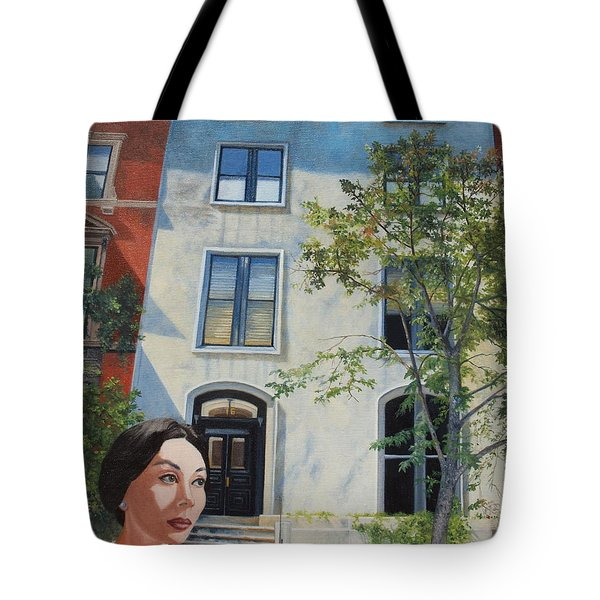 In The Way Of Spindrift Jan Bryant Bartell Tote Bag