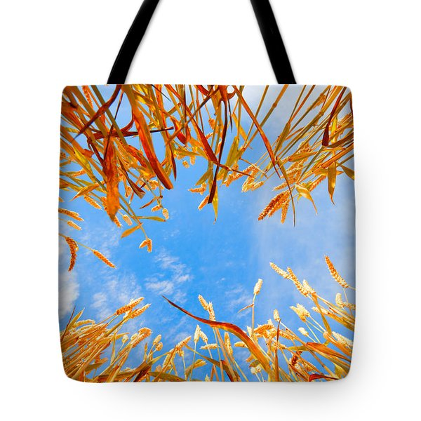 In The Wheat Tote Bag by Alexey Stiop