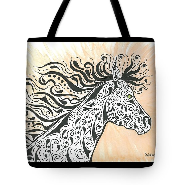 In The Wind Tote Bag by Susie WEBER