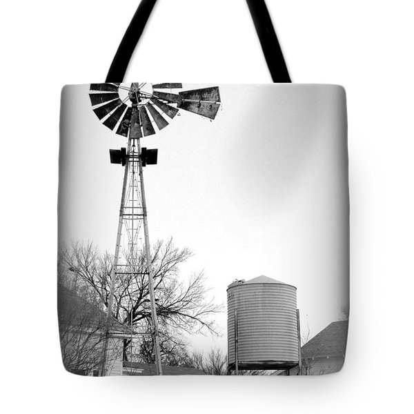 In The Windmills Of Your Mind Tote Bag by Kathy  White