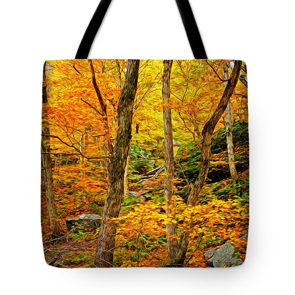 In The Woods Tote Bag by Bill Howard