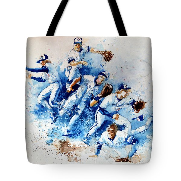 In The Zone Tote Bag by Hanne Lore Koehler
