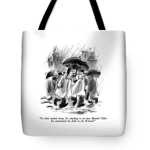 In These Cynical Times Tote Bag