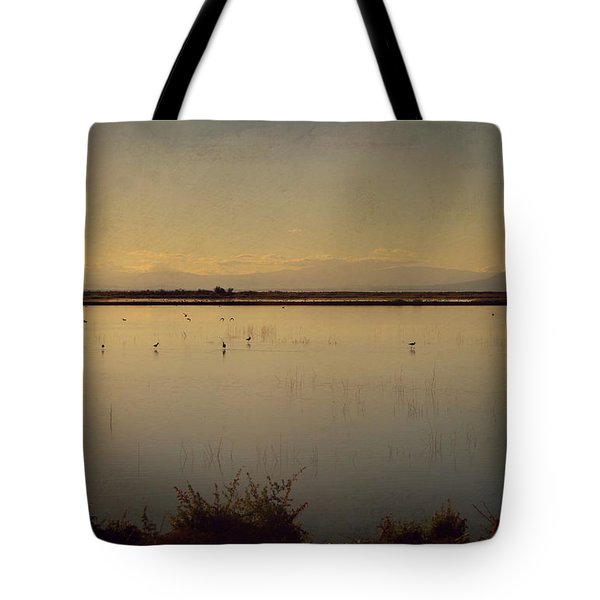 In These Peaceful Moments Tote Bag by Laurie Search
