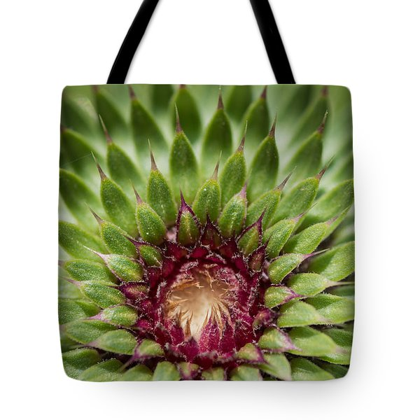 In Thistle's Heart Tote Bag by Simona Ghidini