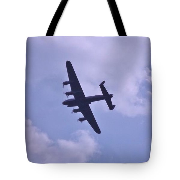 In To The Clouds Tote Bag