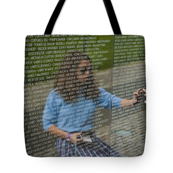 In Touch With The Past Tote Bag