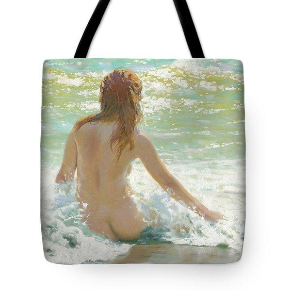 In Waves Of The Black Sea 2012 Tote Bag
