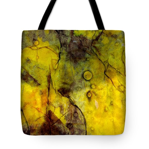 Tote Bag featuring the photograph In Yellow  by Danica Radman