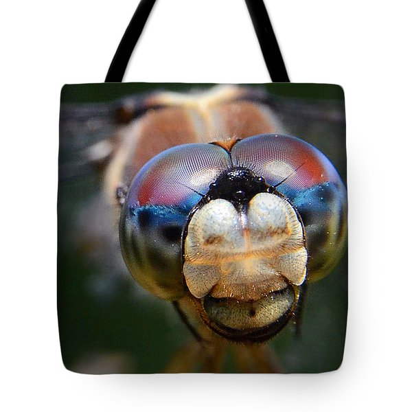 In Your Face Tote Bag by Charlotte Schafer