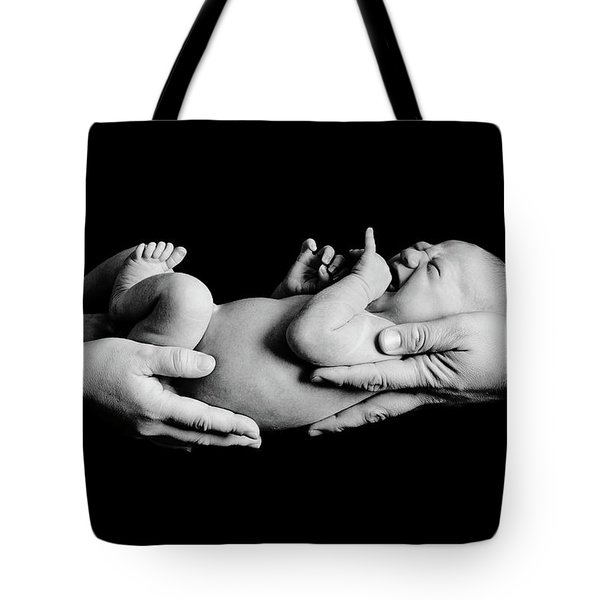 In Your Hands Tote Bag