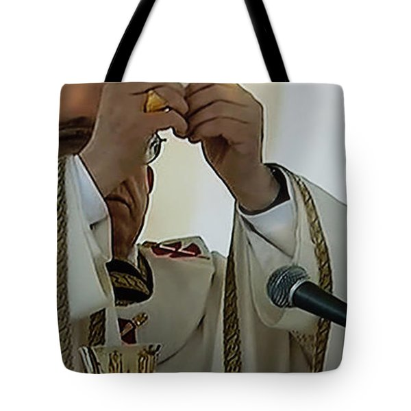 Inauguration Pope Francis Vatican  Rom 19 February 2013  Tote Bag