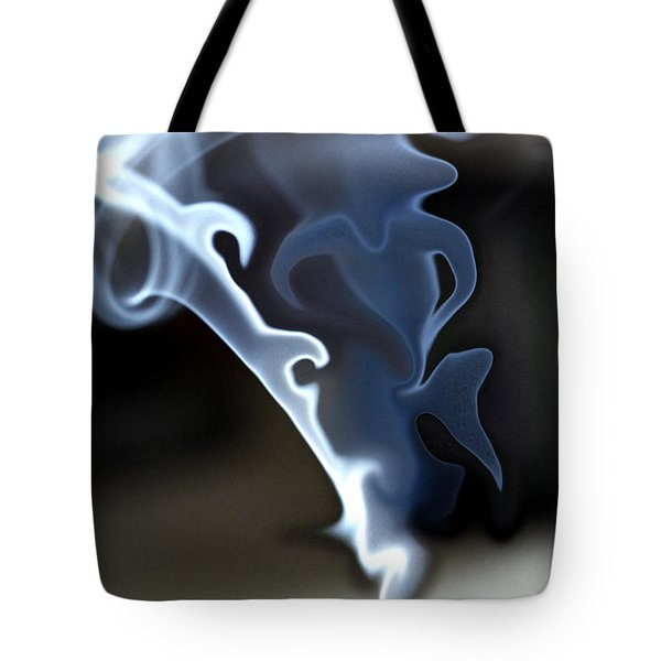 Incense Smoke Dance - Smoke - Dance Tote Bag