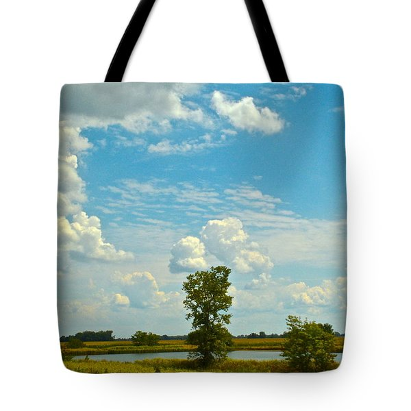 Incoming Tote Bag by Frozen in Time Fine Art Photography