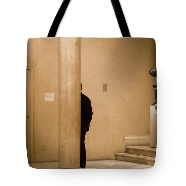 Inconspicuous Guard  Tote Bag by Joanna Madloch